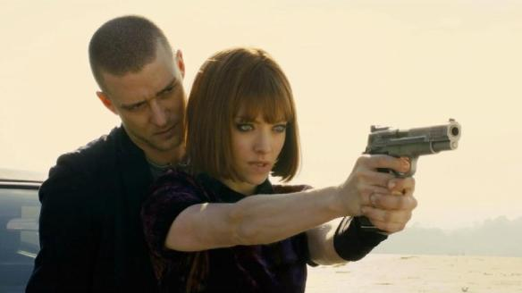 Justin Timberlake and Amanda Seyfried in the movie In Time