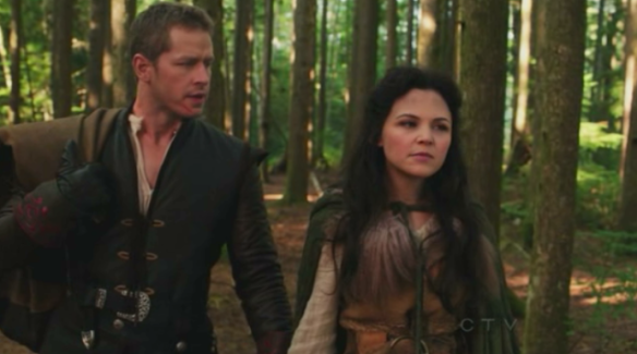 Snow White and Prince Charming in Once Upon a Time