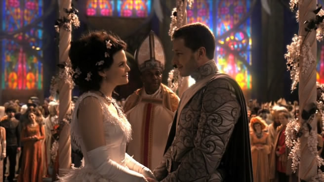 Retro review once upon a time season one episodes 1 6 for Snow white wedding ring once upon a time