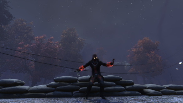 My Dragon demonstrates the new /dance_rockabilly emote in The Secret World