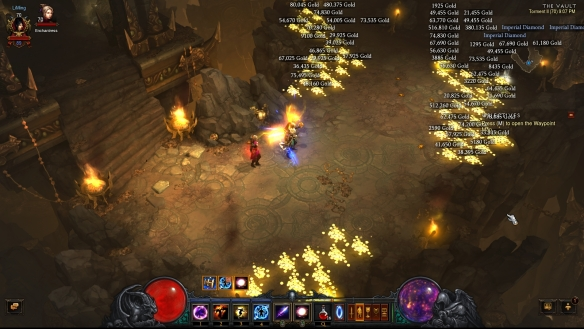 The Vault zone in Diablo III