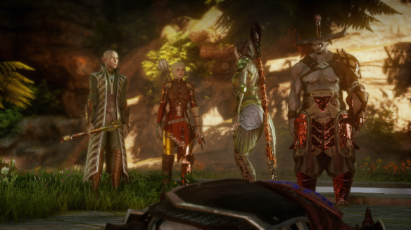 My party in Dragon Age: Inquisition