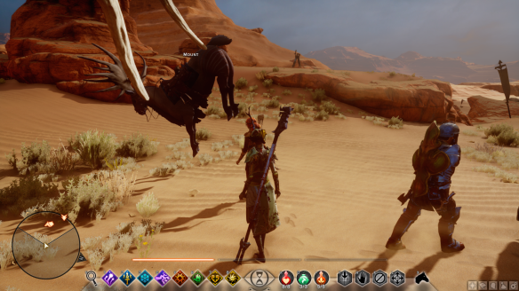 A bizarre bug in Dragon Age: Inquisition
