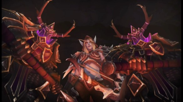 A shot from the trailer for Sylvanas Windrunner in Heroes of the Storm