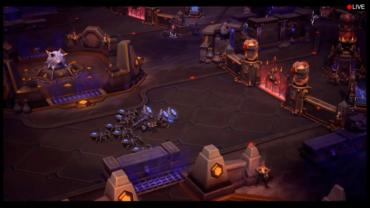 A Preview Of The Tomb Spider Queen Map For Heroes Storm