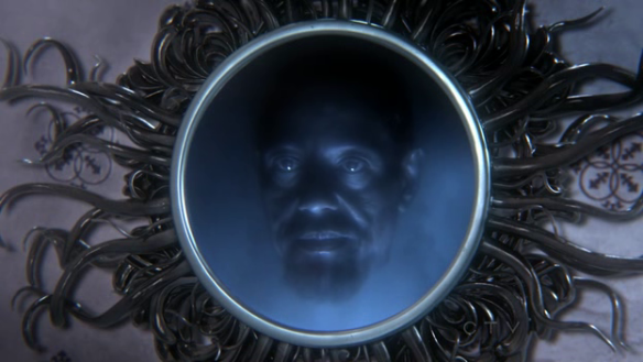 The magic mirror in Once Upon a Time