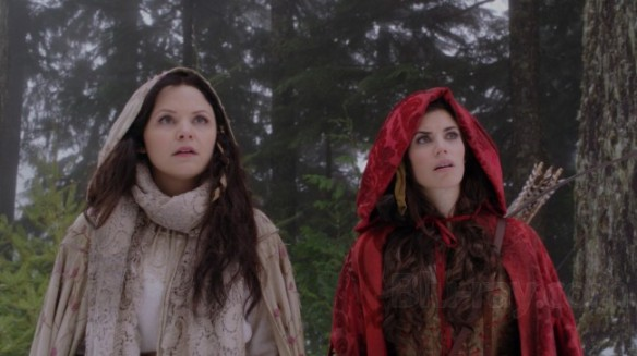 Snow White and Red Riding Hood in Once Upon a Time