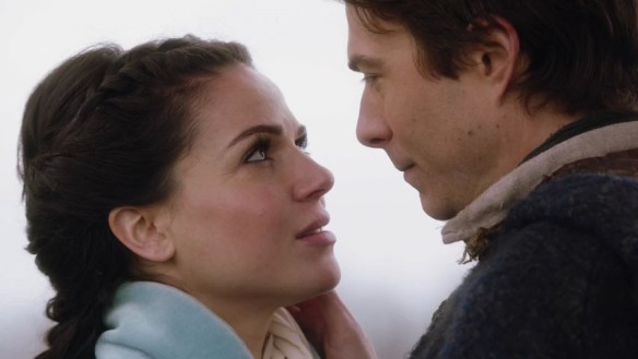 Regina and her lover, Daniel, in Once Upon a Time