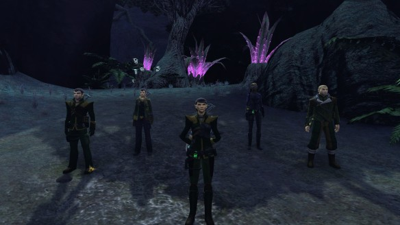 My bridge crew in Star Trek Online