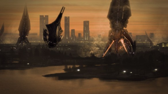 The fall of the Protheans in Mass Effect 3