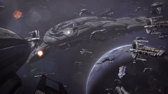 The Geth and the Quarians battle for Rannoch in Mass Effect 3