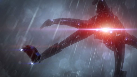 A Reaper in Mass Effect 3