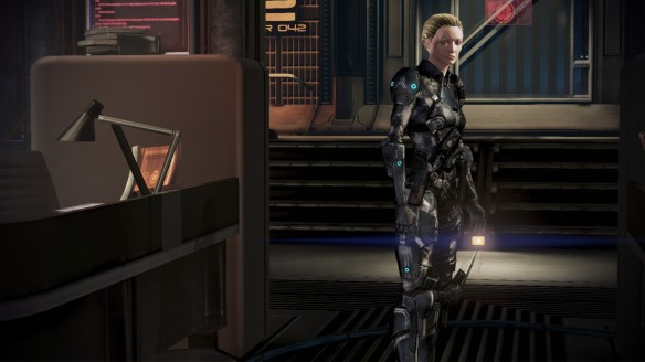 A clone of Shepard in Mass Effect 3: Citadel