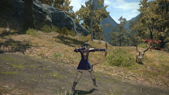 My archer in Final Fantasy XIV: A Realm Reborn
