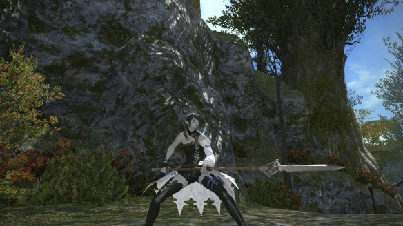 Trying out the lancer class in Final Fantasy XIV: A Realm Reborn