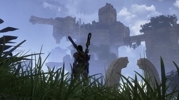 A rare open world zone in Skyforge