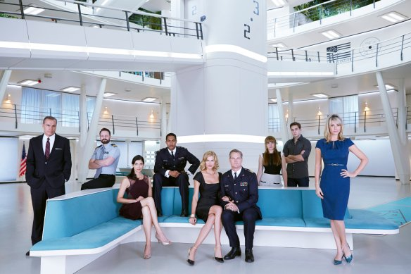 A promotional photo of Ascension's cast