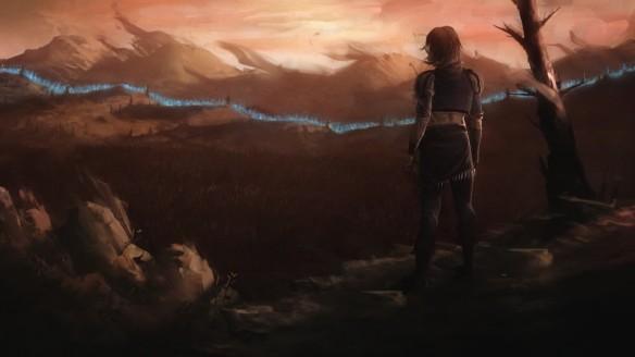 A cutscene in Lichdom: Battlemage