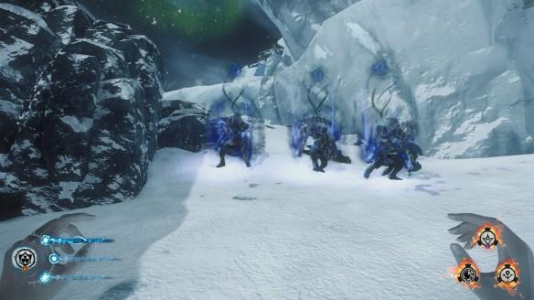 My zombie posse in Lichdom: Battlemage
