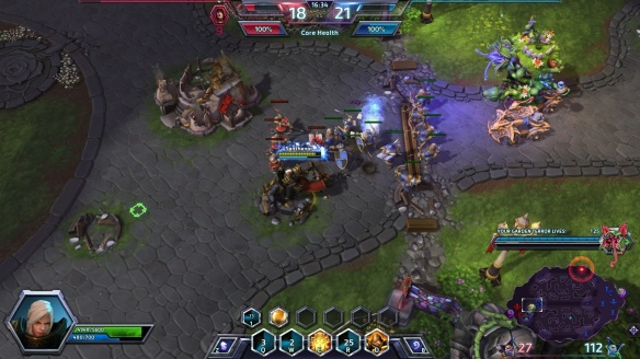 Johanna leads the charge on Garden of Terror in Heroes of the Storm