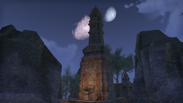 A night shot in Elder Scrolls Online