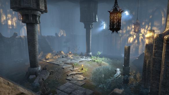 A quest instance in Elder Scrolls Online