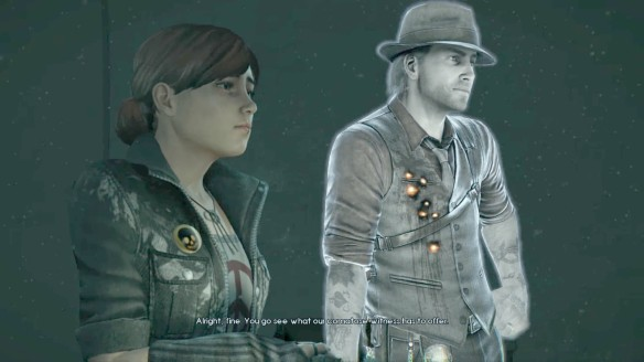 Ronan and Joy in Murdered: Soul Suspect