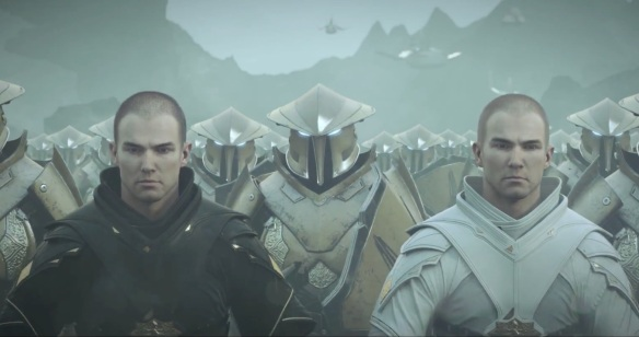 "A shot from the ""Sacrifice"" trailer for Star Wars: The Old Republic's Knights of the Fallen Empire expansion"
