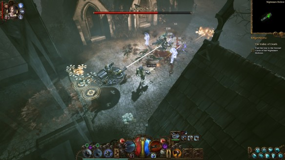 Fighting the undead in The Incredible Adventures of Van Helsing III