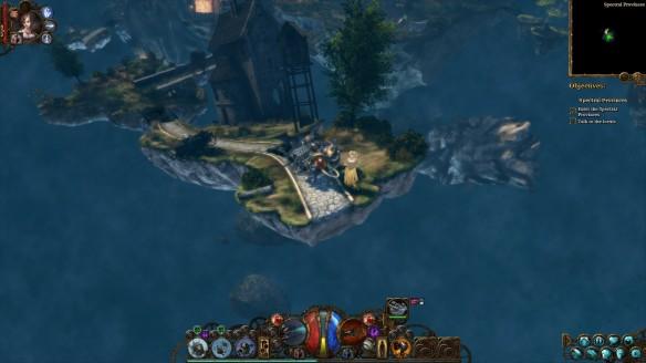 Islands in the Ink in The Incredible Adventures of Van Helsing III