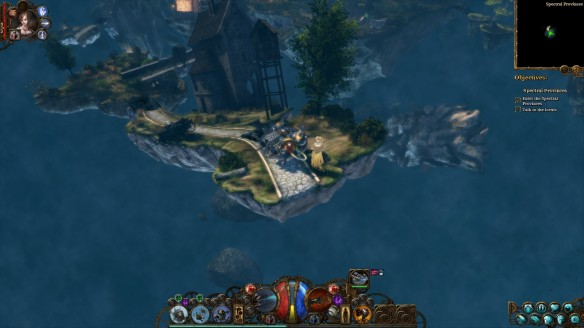 Islands in the Ink in The Incredible Adventures of Van Helsing III