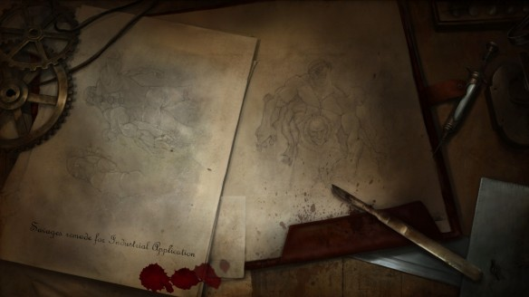 A loading screen in The Incredible Adventures of Van Helsing III