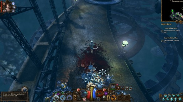 The Clockwork Keep in The Incredible Adventures of Van Helsing III