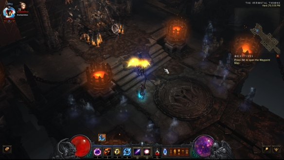 The corpse of Elder Kanai in Diablo III