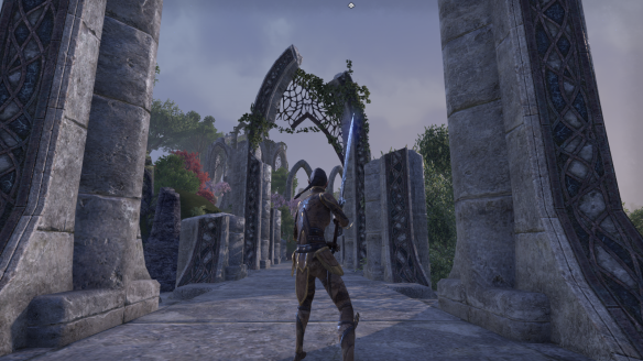 Some Elven ruins in Elder Scrolls Online