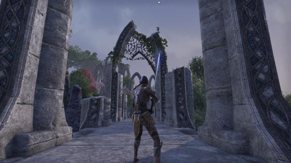 Some Elven ruins in Elder Scrolls Online