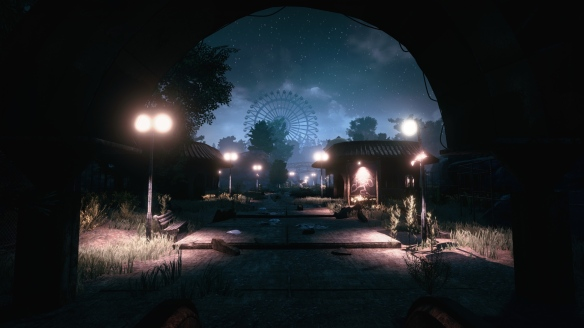 A preview shot from Funcom's new horror game, The Park