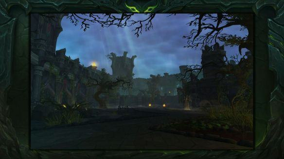 The Black Rook Hold dungeon in World of Warcraft: Legion.