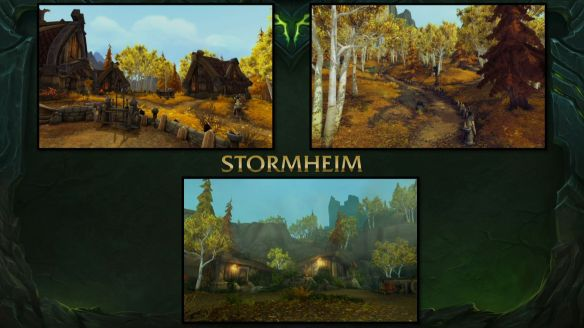 Some shots of the new Stormheim zone in World of Warcraft: Legion.