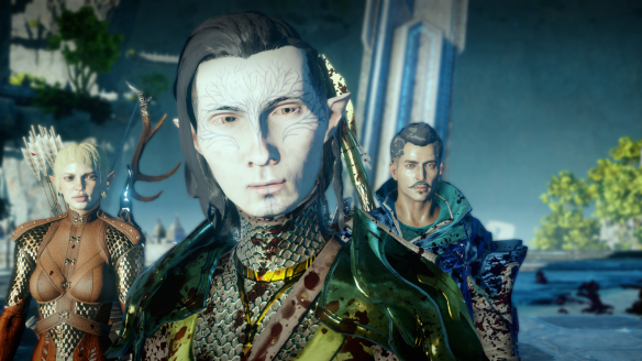 My party in the Descent DLC in Dragon Age: Inquisiton