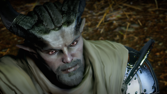 My new Qunari rogue in Dragon Age: Inquisiton