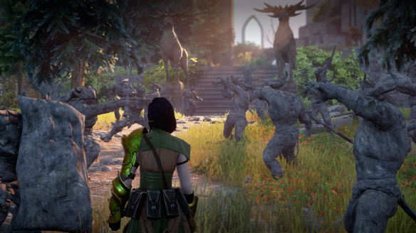 The climax of the Trespasser DLC in Dragon Age: Inquisiton