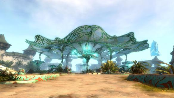The revamped Lion's Arch in Guild Wars 2
