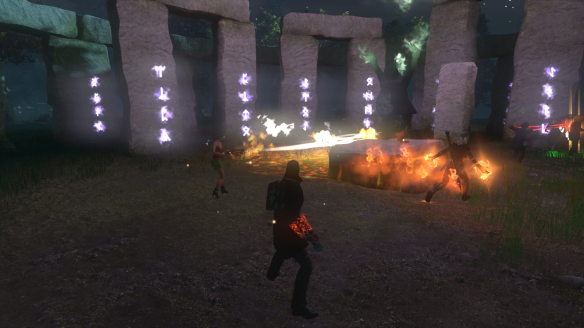 Running the Cat God dungeon in The Secret World