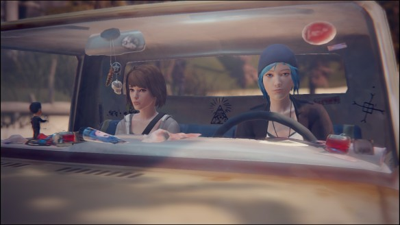 Chloe Price and Max Caulfield in Life Is Strange