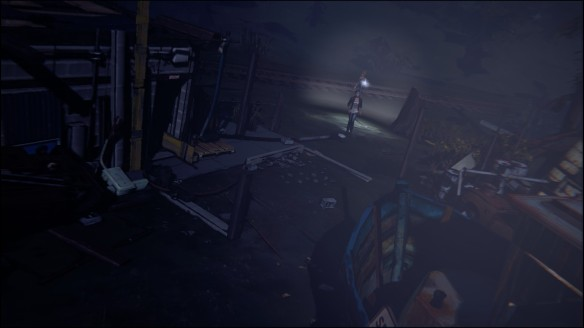 Max and Chloe investigate the junkyard in Life Is Strange