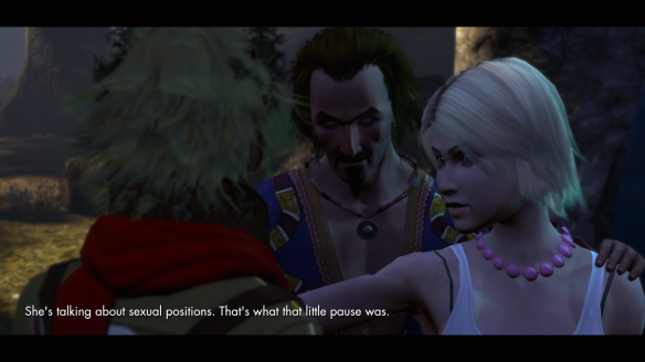 Cassie King's idea of subtlety in The Secret World