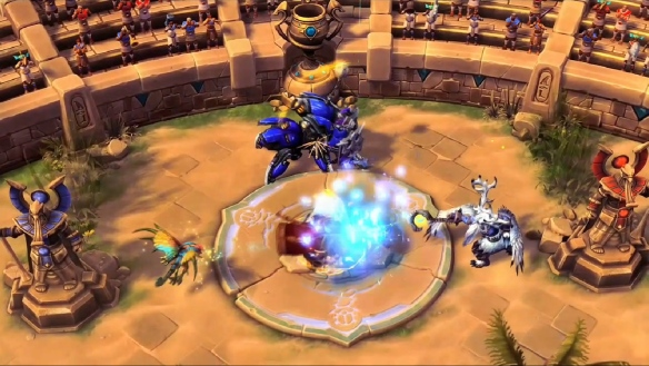 Heroes of the Storm arena preview