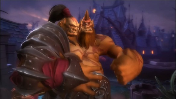 A preview shot of Cho'gall in Heroes of the Storm