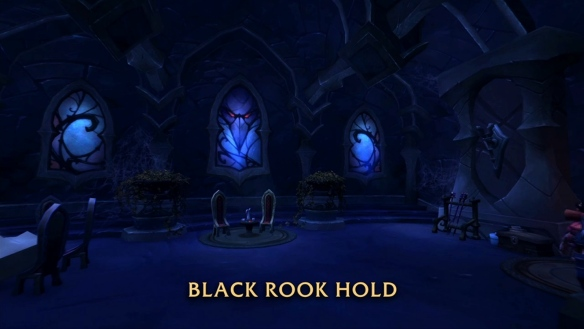 A preview shot of the Black Rook Hold dungeon in World of Warcraft: Legion